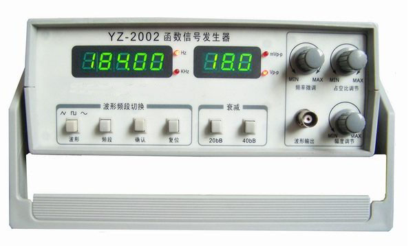2m函数信号发生器yz-2002