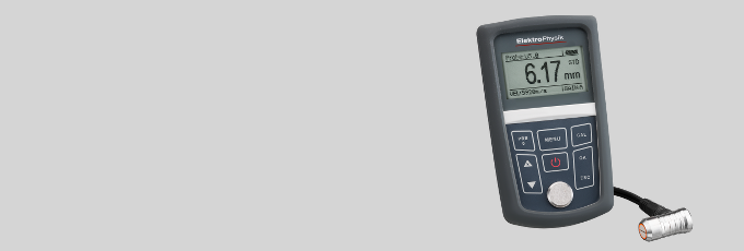 Ultrasonic wall thickness gauge MiniTest 400